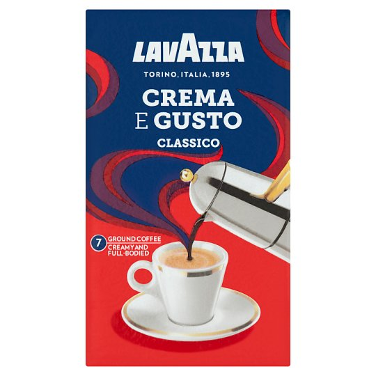 Lavazza Crema e Gusto Roasted Ground Coffee 250 g