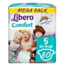 Libero Comfort 5 10-14 kg prémium nadrágpelenka 80 db