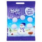 Milka Mini Snow Balls Alpine Milk Chocolate Dragées with Crunchy Sugar Coating 100 g