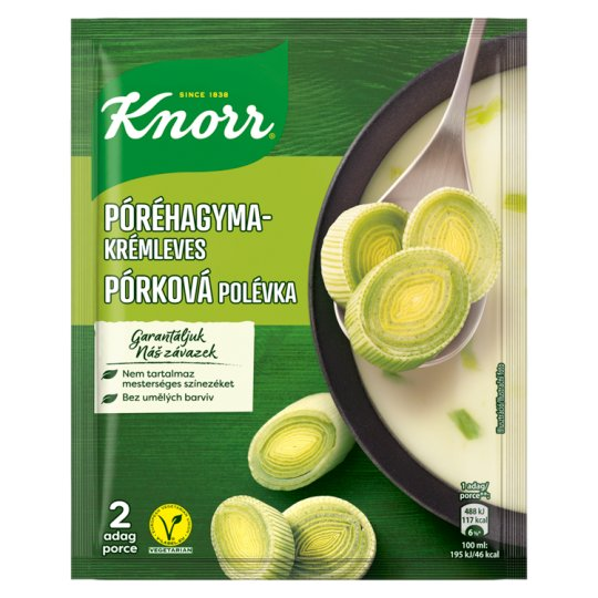 Knorr póréhagyma krémleves 53 g