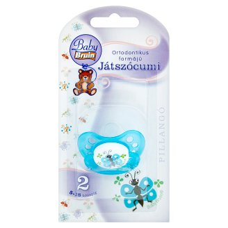 Baby Bruin Pillangó Orthodontic Soother 2 5-18 Months