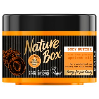 Nature Box Body Butter with Cold Pressed Apricot Oil 200 ml