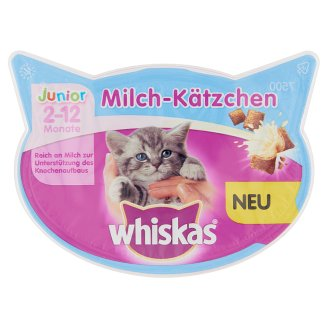 Whiskas Junior Milky Treats Supplementary Food for 8 Weeks+ Young Cats 55 g