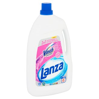 Lanza Vanish 2in1 Power Gel Colors Detergent + Stain Removal for Coloured Clothes 45 Washes 2,97 l