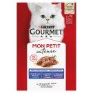 Gourmet Mon Petit teljes értékű állateledel felnőtt macskák számára 6 db 300 g
