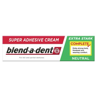 Blend-a-dent Complete Denture Adhesive 47g, Neutral
