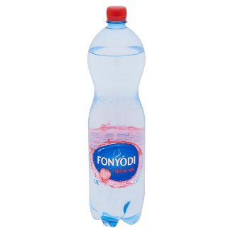 Fonyódi Raspberry Flavoured Low-Energy Carbonated Soft Drink with Sweeteners 1,5 l
