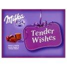 Milka Tender Wishes alpesi tejcsokoládé praliné meggy ízű kakaós krémmel & meggyes töltelékkel 110 g