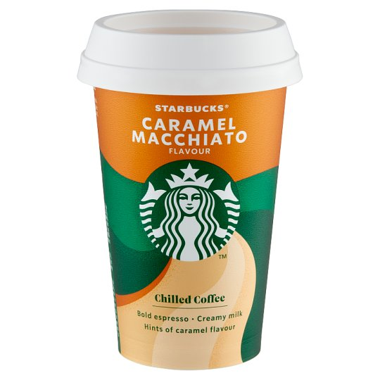 Starbucks Caramel Macchiato UHT Milk Drink with Coffee and Caramel Flavour 220 ml