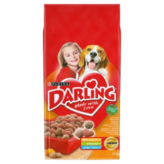 Darling Complete Food for Adult Dogs with Poultry & Vegetables 15 kg