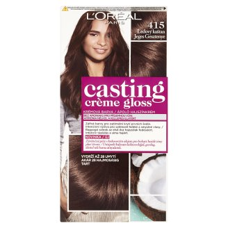 image 1 of L'Oréal Paris Casting Crème Gloss 415 Ice Chestnut Care Hair Colorant