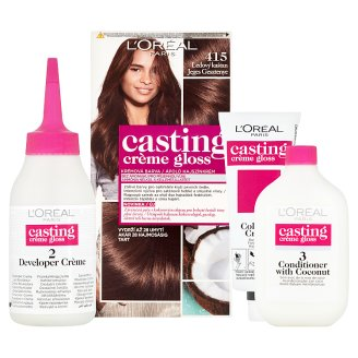 image 2 of L'Oréal Paris Casting Crème Gloss 415 Ice Chestnut Care Hair Colorant