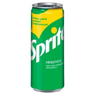 Sprite Canned Carbonated Soft Drink 330 ml