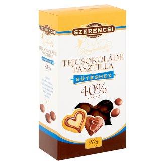 Szerencsi Konyhatündér tejcsokoládé pasztilla 90 g