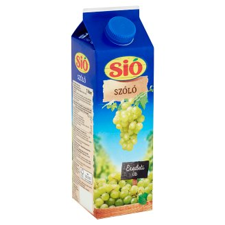 Sió Filtered White Grape Drink 1 l