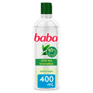 Baba Shampoo for Greasy Hair with Green Tea Extract 400 ml