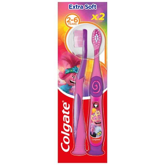 Colgate Smiles Kids extra lágy fogkefe 3-5 éves korig 2 db