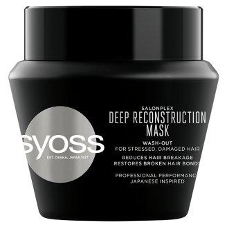 Syoss SalonPlex hajpakolás kémiai anyagokkal, hajformázókkal kezelt hajra 300 ml