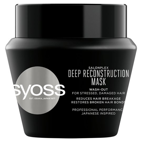 Syoss SalonPlex Intensive Recreation Treatment Chemically Treated, Mechanically Stressed Hair 300 ml