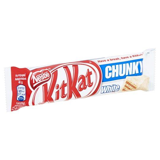 KitKat Chunky ropogós ostya fehér csokoládéban 40 g