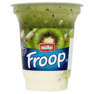 Müller Froop Dessert from Yogurt with Kiwi Syrup 150 g