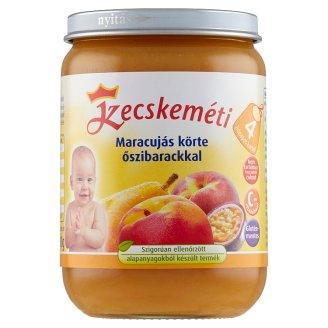 Kecskeméti Gluten- and Dairy-Free Peach-Maracuja Baby Dessert 4+ Months 190 g