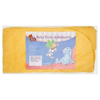 Baby Bruin Terry Hooded Bath Towel 80 x 90 cm
