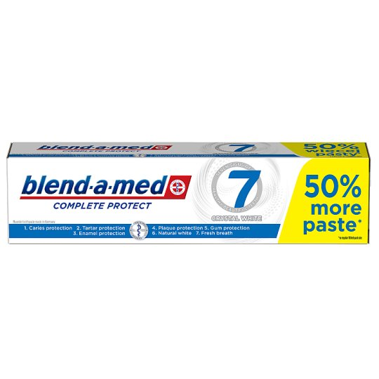Blend-a-med Complete Protect 7 Crystal White Toothpaste 150ml