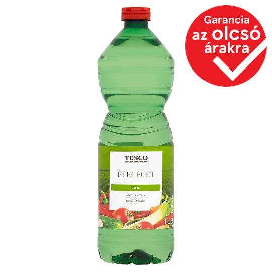 Tesco Food Vinegar 20% 1 l