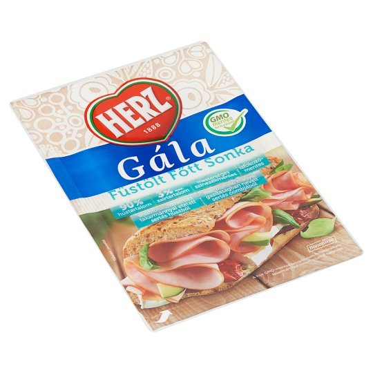 HERZ Gála Sliced Smoked Cooked Ham 90 g