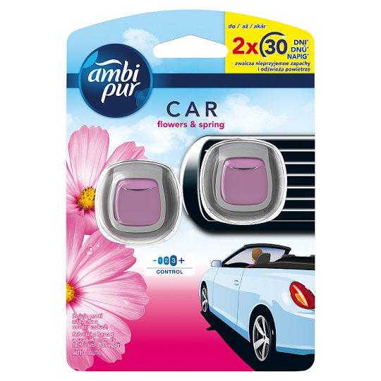 Ambi Pur Csíptetős Autóillatosító, Flowers & Spring, 2 db