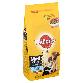 Pedigree Vital Protection Junior Complete Food for Puppies Rich in Chicken with Rice 2 kg