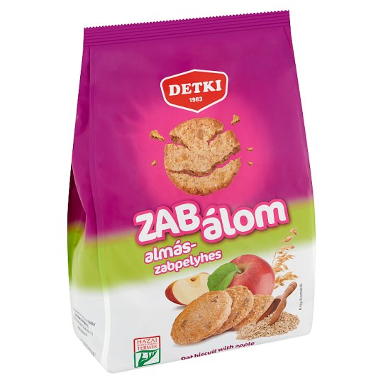 Detki Zab Álom Oat Biscuit with Apple 180 g