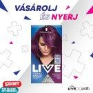 Schwarzkopf Live Permanent Hair Colorant U69 Amethyst Chrome