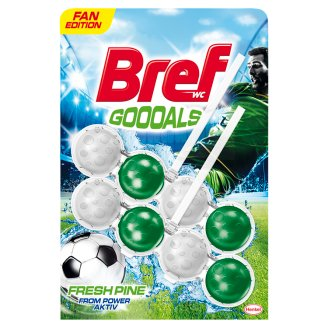 Bref Power Aktiv Goooals Fresh Pine WC frissítő 2 x 50 g