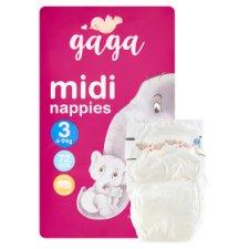 image 2 of Gaga 3 Midi 4-9 kg Nappies 72 pcs