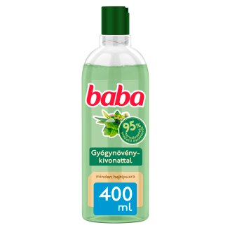 Baba Shampoo for All Hair Types with Herbs 400 ml