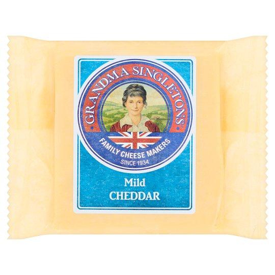 Grandma Singletons Mild White Cheddar Cheese 200 g