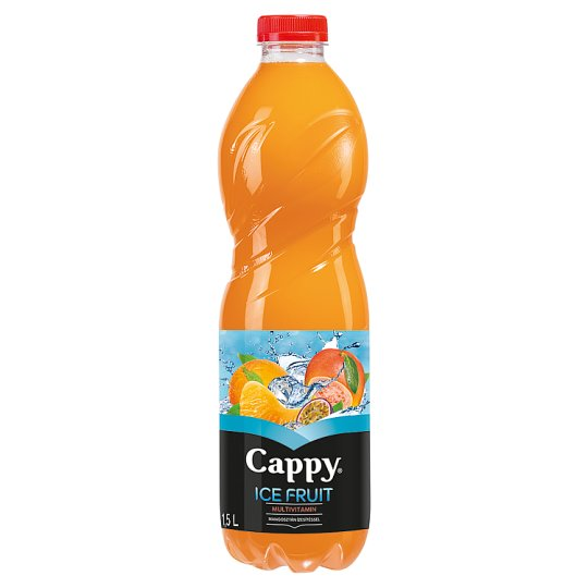 Cappy Ice Fruit Multivitamin Non-Carbonated Mixed Fruit Drink with Mangosteen Flavour 1,5 l