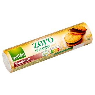 Gullón DietNature csokoládé ízű krémmel töltött diabetikus szendvicskeksz 250 g