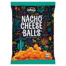 Oho! Nacho Cheese Balls Corn Snacks with Cheese 80 g