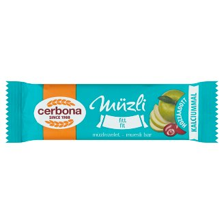 image 1 of Cerbona Fitt Cereal Bar with Calcium 20 g
