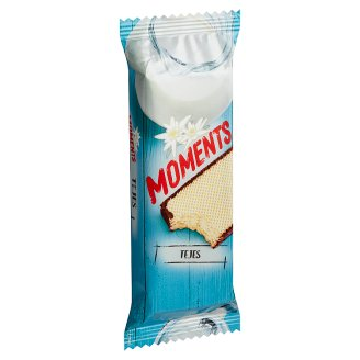 Moments Cocoa Coated Crispy Wafers with Milk Cream Filling 50 g