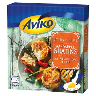 Aviko Quick-Frozen Potato Gratins with Emmental Cheese 4 pcs 400 g