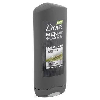 Dove Men+Care Elements Minerals+Sage Body and Face Wash 400 ml