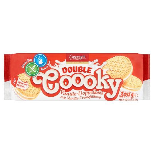 Coppenrath vaníliás glutén- laktózmentes keksz vaníliás töltelékkel 300 g