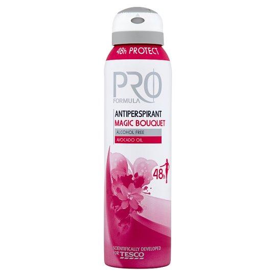 Tesco Pro Formula Magic Bouquet izzadásgátló dezodor 150 ml