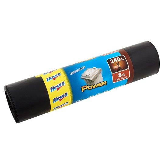 Hewa Power Bin Bags 240 l 8 pcs