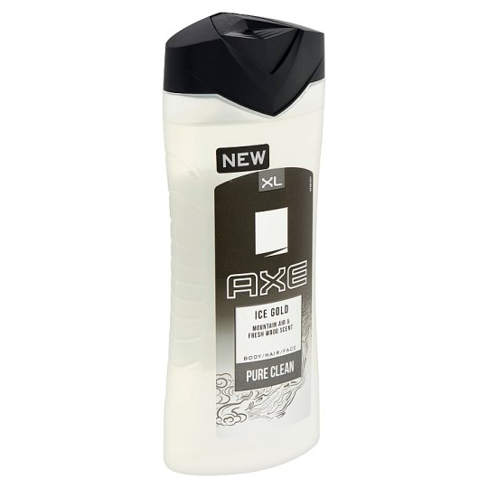 Axe Ice Gold Pure Clean tusfürdő 400 ml