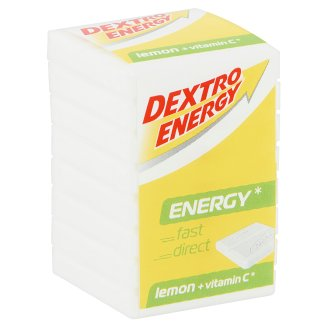 Dextro Energy Lemon Flavoured Dextrose Tablets with Vitamin C 46 g